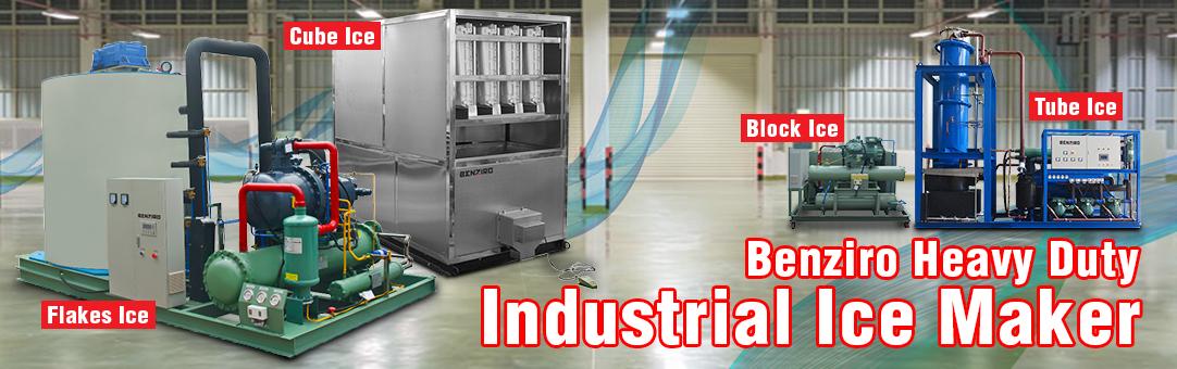 Industrial Ice Maker Machine