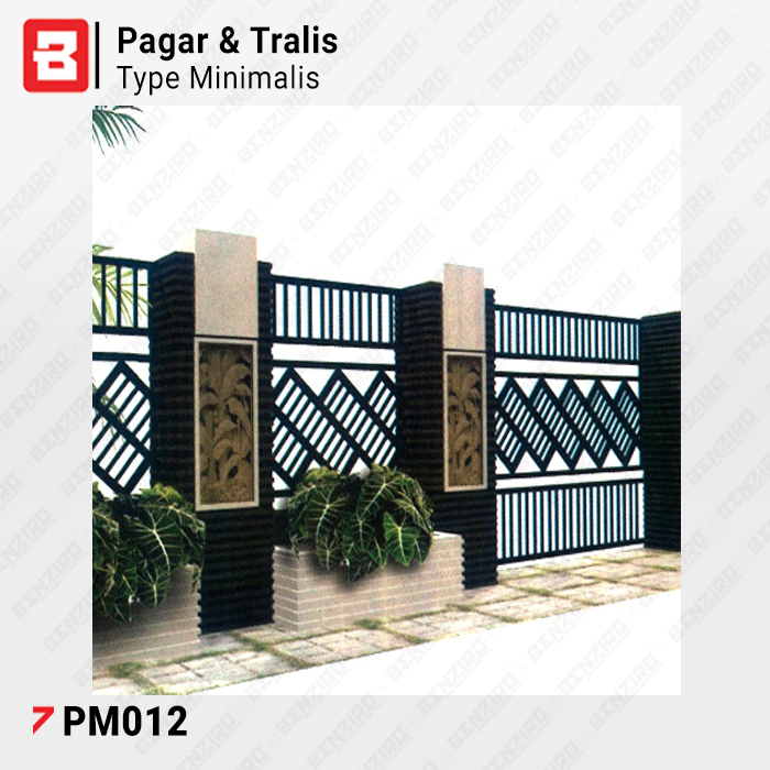 Product Pagar Minimalis Type Pm012